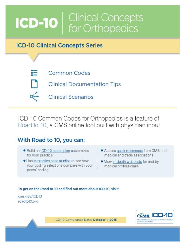 i CD 10 Clinical Concepts Orthopedics 1 | Vertebral Column