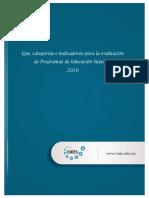 Ejes, categorias e indicadores para la evaluacion de programas de educacion superior 15 AGO 2017.pdf