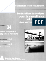 Fasc 34. Ponts suspendus et ponts أ  haubans_ 2e Partie- Dispositions Paritculiأ¨res. IT (mar 1986)