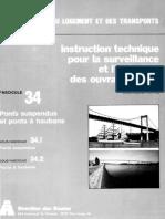 Fasc 34. Ponts suspendus et ponts أ haubans_ 2e Partie- Dispositions Paritculiأ¨res. IT (mar 1986)