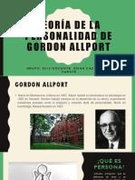 Teoría de La Personalidad de Gordon Allport