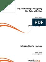 1 SQL Hadoop Analyzing Big Data Hive m1 Intro Hadoop Slides