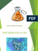 Base Quimica de La Vida Introduccion