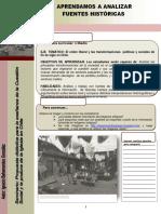 Guia Para Analizar Fuentes Historicas Practica