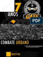 Palestra GATE Combate Urbano - Cav 12 Ten PMSC Bomfim