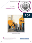 Concrete Pipe Making Machines VIHY Masterflex SC 60