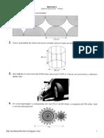 questões de áreas de figuras planas