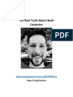 The Real Truth About Noah Carpenter