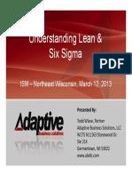 Understanding Lean Six Sigma