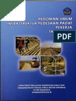 Pedoman Umum Infrastruktur Pedesaan Padat Pekerja 2014