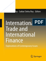 International Trade and International Finance Explorations of Contemporary Issues