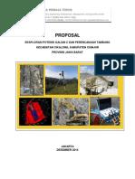 Dec 2014_Proposal Eksplorasi Dan Mine Plan_Ratu Cianjur & Raja Batu