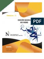 Herramientas Edicion Basica
