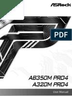 AB350M Pro4 Manual