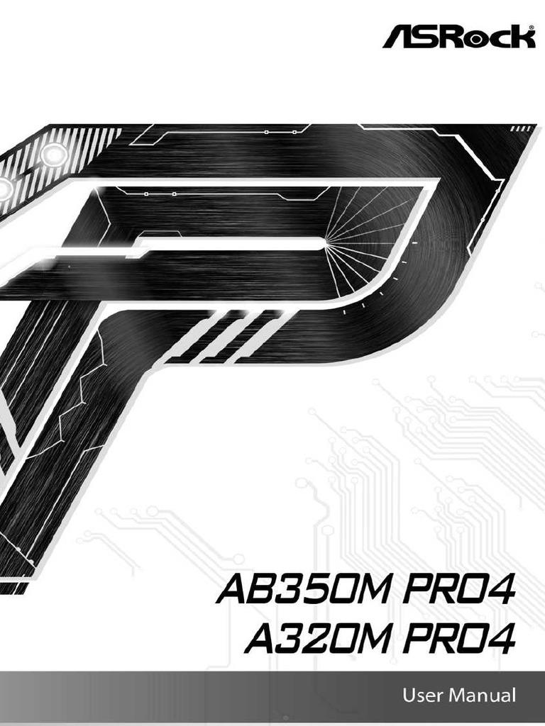 AB350M Pro4 Manual   Hdmi   Usb