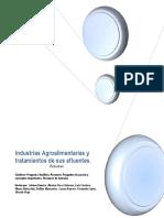 Industrias Agroalimentarias y Tratamientos de Sus Efluentes