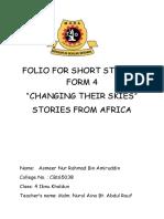 Folio for Short Stories Form 4