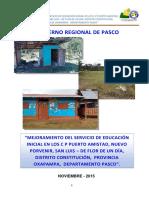 Exp. i.e Puerto Amistad Nuevo Porvenir