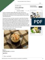Chana Salad_ Weight Loss Recipe - Boldsky