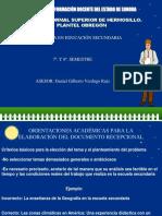 02 Orientaciones Académicas Para Elaborar Documento Recepcional - Copia