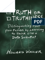 Howard Wainer-Truth or Truthiness_ Distinguishing Fact From Fiction by Learning to Think Like a Data Scientist-Cambridge University Press (2015)