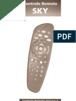 Manual Controle Remoto Universal SKY