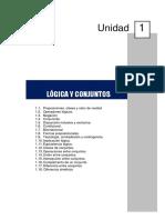 Unidad 1. Logica Matemática