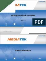 MT6260-客户入门手册-v1.0