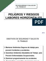 Peligros y Riesgos en Labores Horizontales