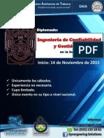 Brochure Diplomado de Confiabilidad