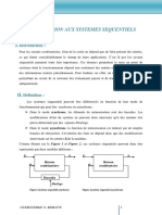 Chapitre 1 Introduction Systemes Sequentiels