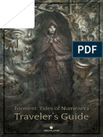 Torment Tides of Numenera - Traveler's Guide (Manual)