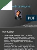 La Teoría de Taguchi