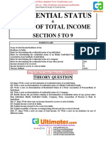 Residential Status Scope of Total Income2