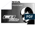 Manual de Propietario - Honda Nighthawk 250