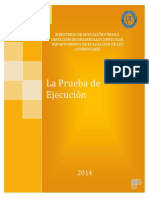 Prueba de Ejecucion2014