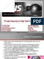 Siegel Marc PrivateSecurityinHighRiskEnvironments