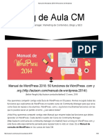 Manual de Wordpress 2018