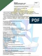 Conteúdo do Caderno de Filosofia Geral e do Direito
