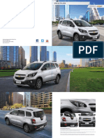Chevrolet Indonisia Spin Active Brochure