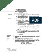 Surat Keputusan Pembentukan Team Rekam Medik