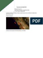 Terremotos Haiti Pakistan y China