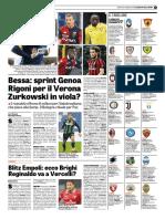 La Gazzetta Dello Sport 25-01-2018 - Serie B - Pag.1