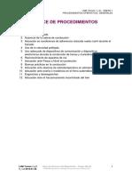 02 AN1 Indice ANEXO 1 Procedimientos