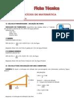 Ficha Tecnica Matematica