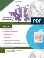 PDF (Slides Da Aula) - Instrumentos de Avaliação Psicológica