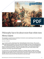 Philosophy Has to Be About More Than White Men _ Minna Salami _ Opinion _ the Guardian