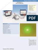 Electron Diffraction PHYWE