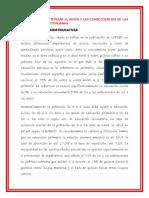 Crisis Educativas Peruanas