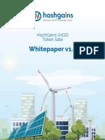 Hashgains ICO Token Whitepaper